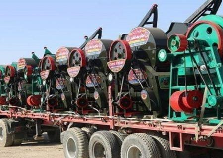 افغانستان به تاجیکستان تریشر گندم صادر کرد