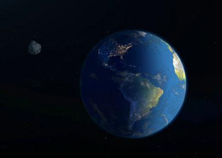 شهاب آسمانی بزرگ از کنار زمین میگذرد